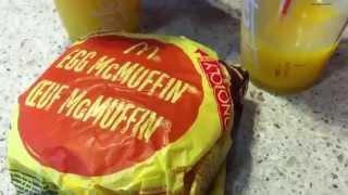 mcdonalds breakfast asmr