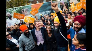 Jagmeet Singh on the campaign trail | Day 33