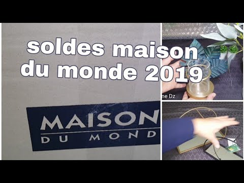 Haul deco / solde maisons du monde / action /amazon