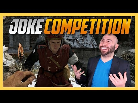 The Last Call of Duty Joke Competition of 2017