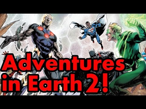 Adventures in Earth 2! A Comic Island 2 Year Anniversary THANK YOU video!