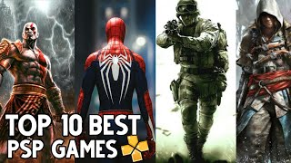 Top 10 PSP Games For Android | Best PPSSPP Emulator Games