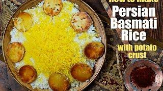 How to Make Persian Basmati Rice with Saffron