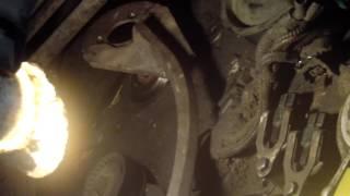 BMW n42 цепь грм установка меток, затяжка валов