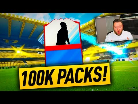 BLUE & INFORM FLARES!! FUT BIRTHDAY 100K PACKS LIVE! FIFA 17 PACK OPENING