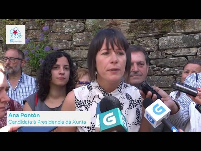 "Ana Pontón ""Galiza ten que dar un paso adiante"""