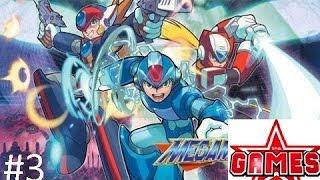 Megaman X8 #3 Kiếm mỗi cái giáp cũng hồi sinh vài lần (boss Antony)