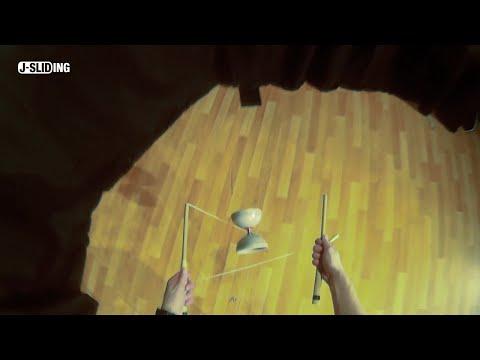 J - SLIDING | Diabolo tricks | Double self catch