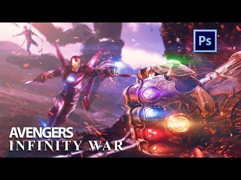 Avengers: Infinity War   Photoshop Manipulation (Speed Art)
