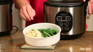 Aroma ARC 914SBD 4 Cup Uncooked 8 Cup Cooked Digital Rice Cooker and Food Steamer Reviews