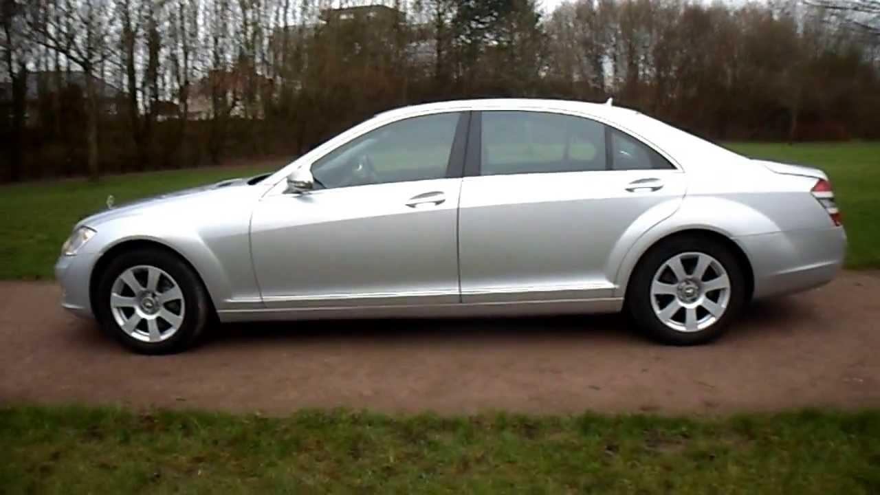 2009 09 plate mercedes benz s class s320 cdi diesel long for Mercedes benz s class diesel