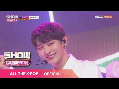 Free Download Show Champion Ep.305 Yoon Ji Sung - You...like The Wind Mp3 dan Mp4