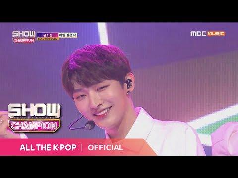 Free Download Show Champion Ep.305 Yoon Ji Sung - You...like The Wind Mp3 dan Mp4