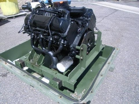GM V8 6.2L Diesel Engine on GovLiquidation.com