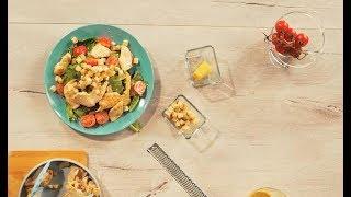 Готовим с Faberlic: салат «Цезарь»