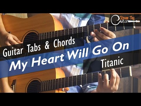My Heart Will Go On | Titanic - Guitar Tabs (Lead) & Chords (Lesson/Tutorial)