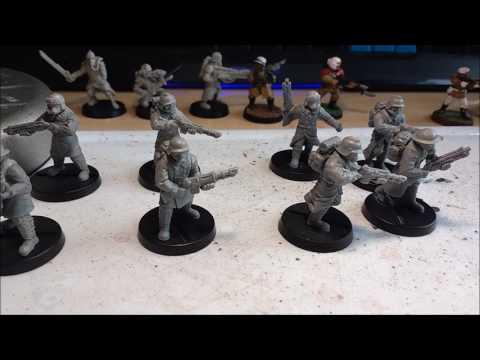 8th Edition Warhammer 40k: Alternative Death Korp of Krieg Models