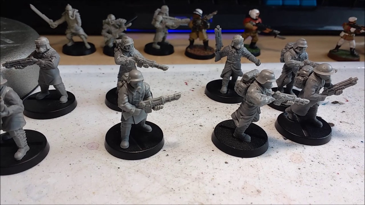8th Edition Warhammer 40k: Alternative Death Korp of Krieg Models