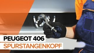 Wie PEUGEOT 406 Break (8E/F) Spurstangengelenk austauschen - Video-Tutorial