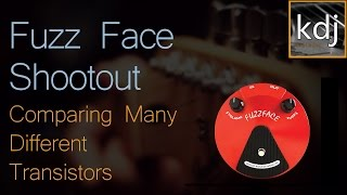 Fuzz Face Shootout - Comparing Many Different Transistors