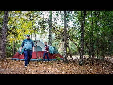 Camping at Flint Creek Water Park in Wiggins Mississippi