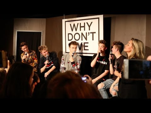 WHY DONT WE AMSTERDAM| WHO IS SINGLE ?! | Q & A