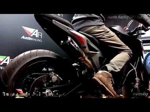 KTM 790 Duke Austin Racing Exhaust sound