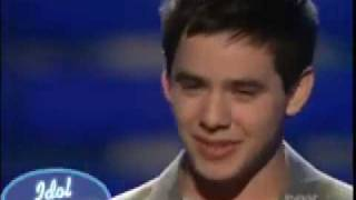 """Http://www.idolrings.comdavid archuleta performs """"don't let the sun go down on me"""" by elton john during finale episode of american idol may 20th 2008...."""