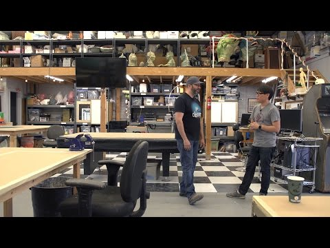 Maker Spaces: Touring Frank Ippolito's Upgraded Shop!