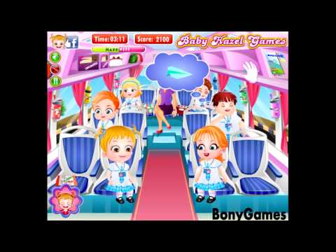 Baby Hazel Preschool Picnic Full Episode ,school busdrive,swimming time,enjoy water rides
