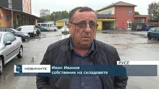 Голям пожар изпепели складове, цех и автосервиз в Русе