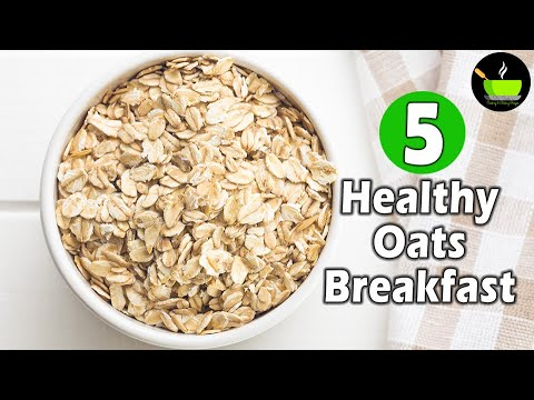 5-easy-&-healthy-oats-breakfast-recipes- -instant-breakfast-recipes- -weight-loss-oats-breakfast