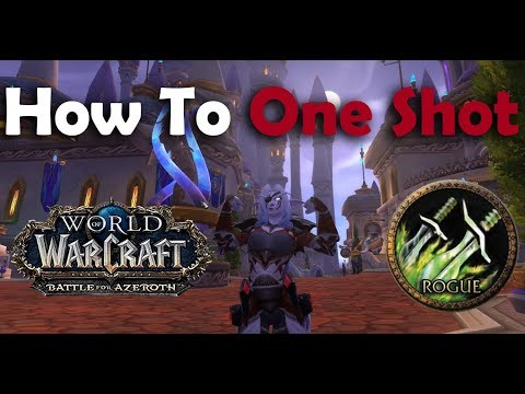 BFA - Subtlety Rogue One Short Guide - Battle for Azeroth patch 8.0 (Battle for Azeroth Prepatch)