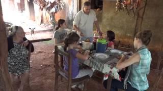 Artigas, Paraguay, casa de la tia Dolores 30 Marzo 2013