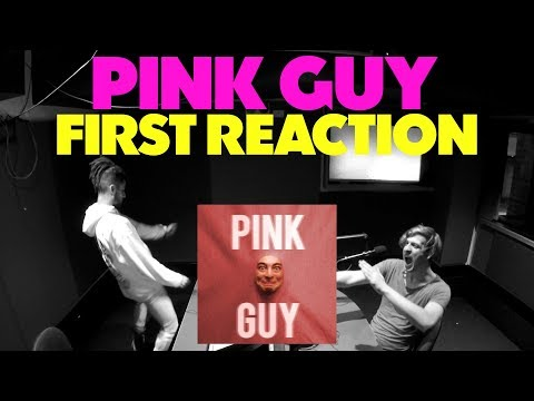 PINK GUY FIRST REACTION/REVIEW (JUNGLE BEATS RADIO)