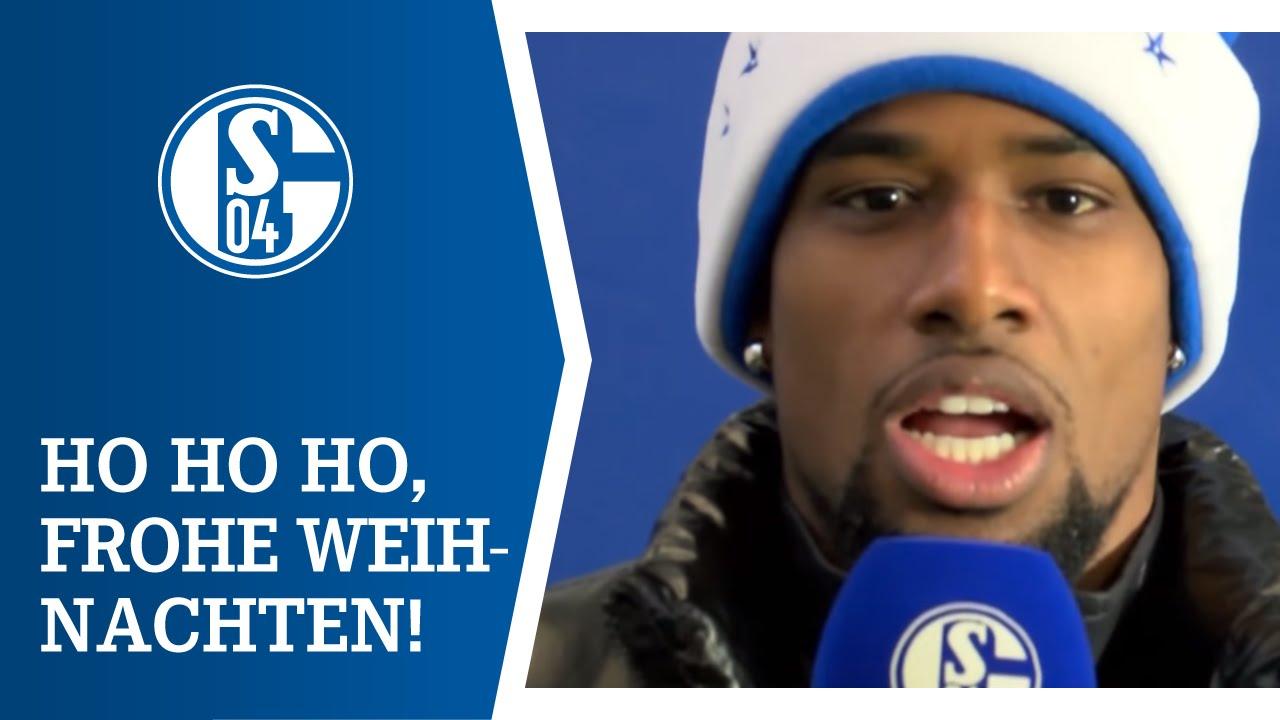 Schalke Bilder Weihnachten.Die Schalker Mannschaft Wünscht Frohe Weihnachten