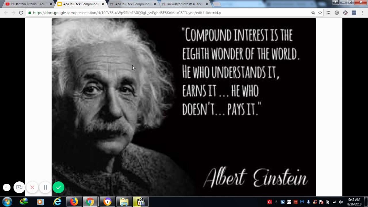 Apa Itu Efek Compounding Dalam Investasi Dan Contoh Kasusnya Youtube