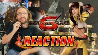 DOODS REACT: Hitomi & Lei Fang Reveal - Dead Or Alive 6 Trailer