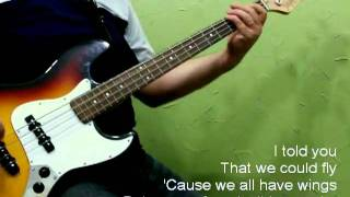 INXS - Never tear us apart (Bass Cover)