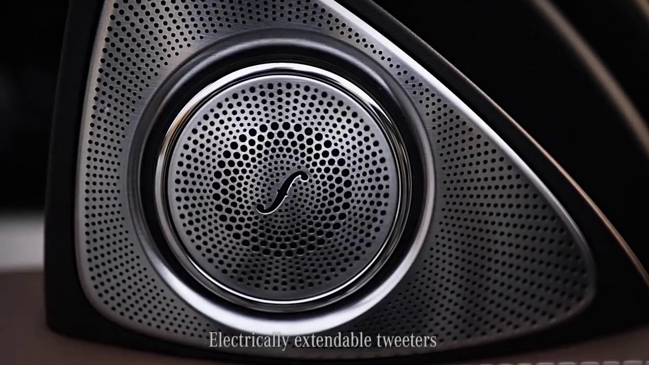 the new e class burmester sound systems youtube. Black Bedroom Furniture Sets. Home Design Ideas