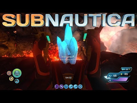 DIVING DEEP for KYANITE CRYSTAL - Subnautica Gameplay Playthrough - Ep. 32