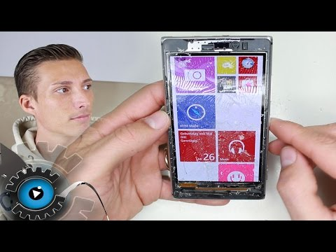 Nokia Lumia 925 Glas Wechseln Tauschen Reparatur [Deutsch] Glass repair