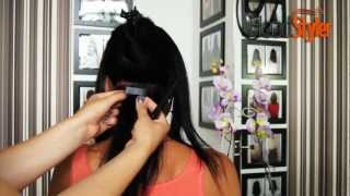 Przedłużanie włosów metodą kanapkową TAPE ON Headstyler