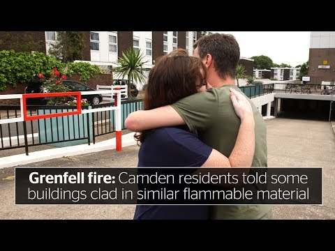 Grenfell Tower fire: Camden residents told some tower blocks fitted with similar flammable cladding