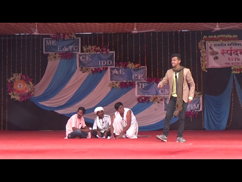 Comedy drama marathi rajanikant best drama nadach khula @ GPN  2K17