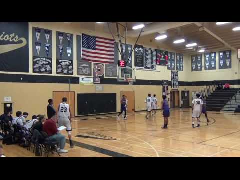 Armijo High School (V) 12-20-2016 Indians vs Woodland Pioneer Patriots