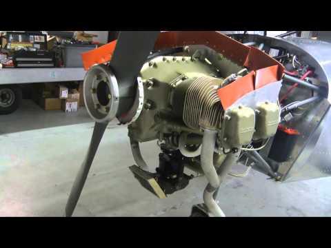 Continental O200 Engine 1st Start