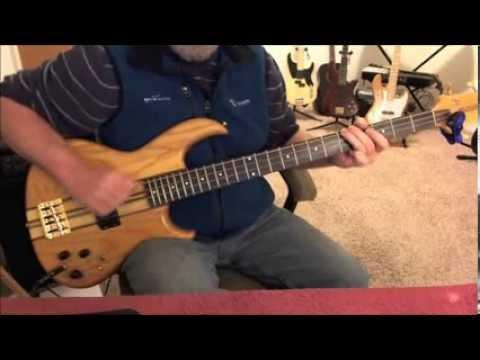 John Cougar Mellencamp - Play Guitar - Bass Cover