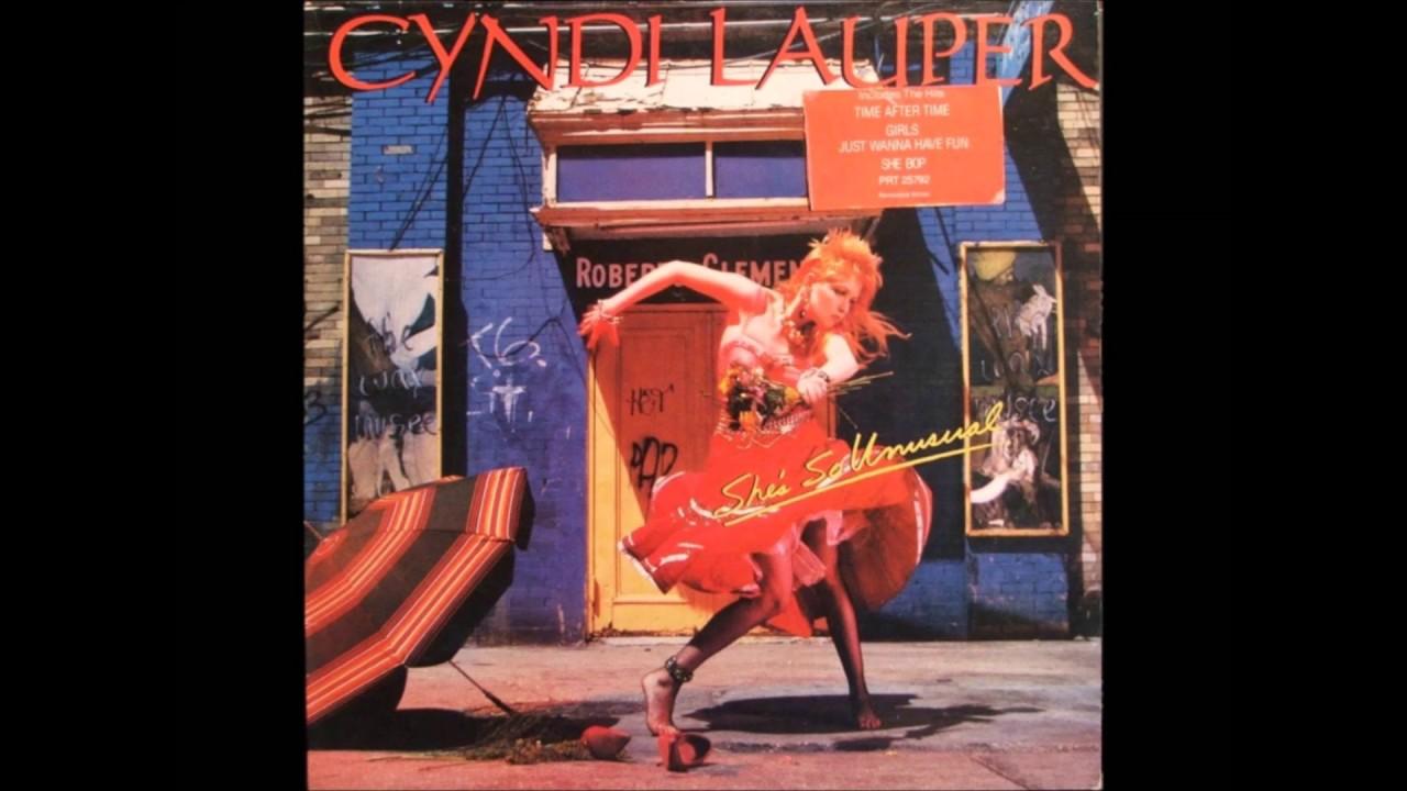 Cyndi Lauper - Piger bare vil have det sjovt Audio Komplet-6833