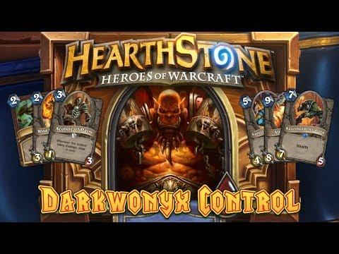 Hearthstone Deck Spotlight: Darkwonyx Control Warrior (#1 Legend EU)